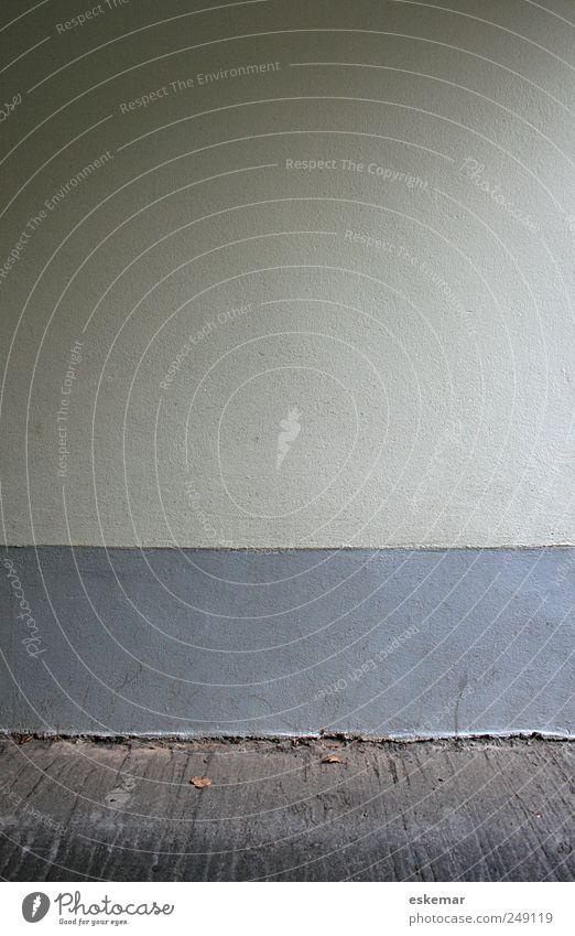 Wand weiß Haus Wand grau Mauer Gebäude Fassade Boden Bodenbelag einfach Bauwerk