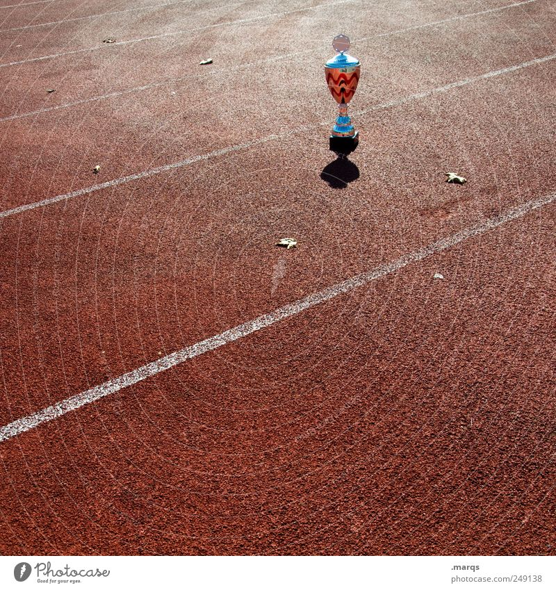 Der Preis ist heiß Feste & Feiern Kraft Erfolg Ziel Zeichen Wirtschaft Sportveranstaltung Pokal Applaus Konkurrenz erste Leistung Ehre Trophäe Sportplatz