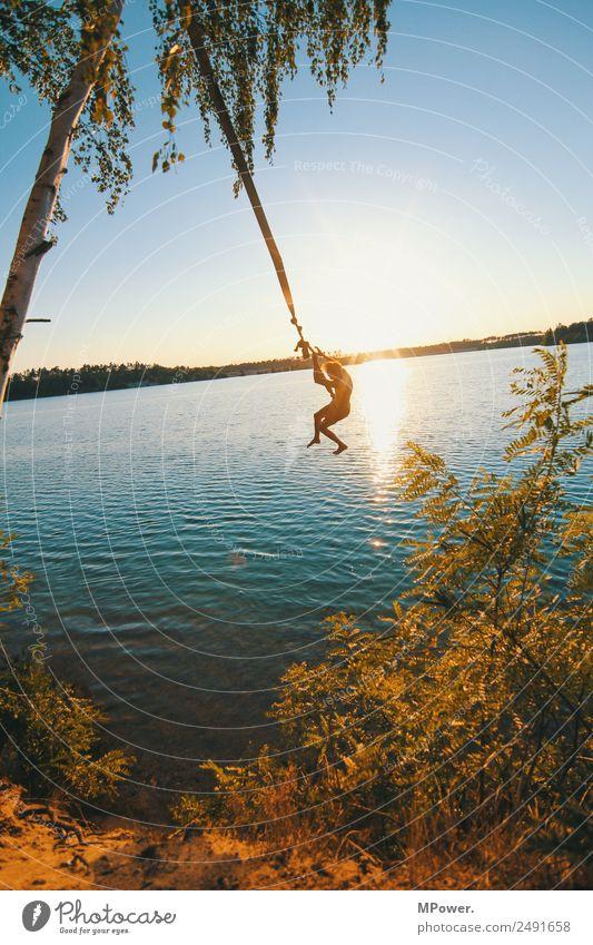 sommerfeeling pur Lifestyle Freizeit & Hobby Ferien & Urlaub & Reisen Sommer Sommerurlaub Sonne Sonnenbad Strand Insel Wellen Mensch Junger Mann Jugendliche 1