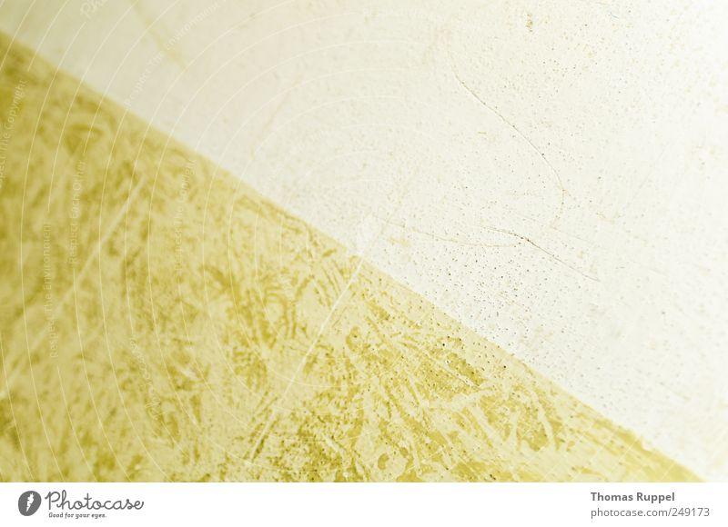 Diagonale Mauer Wand Tapete Tapetenmuster grün weiß diagonal gebraucht Hintergrund neutral Hintergrundbild Stil Design Dreieck Fassade Farbfoto Gedeckte Farben