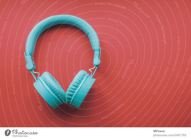 türkise köpfhörer Headset MP3-Player Technik & Technologie Unterhaltungselektronik rot Design Kopfhörer Klang Musik hören Lautsprecher Tontechnik Musiker