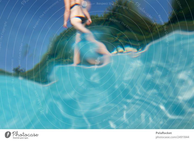 #A# Poolmode Kunst ästhetisch Schwimmbad Hotelpool blau Wasser Gesäß Ferien & Urlaub & Reisen Urlaubsfoto Urlaubsstimmung Urlaubsort Urlaubsverkehr Urlaubsflirt