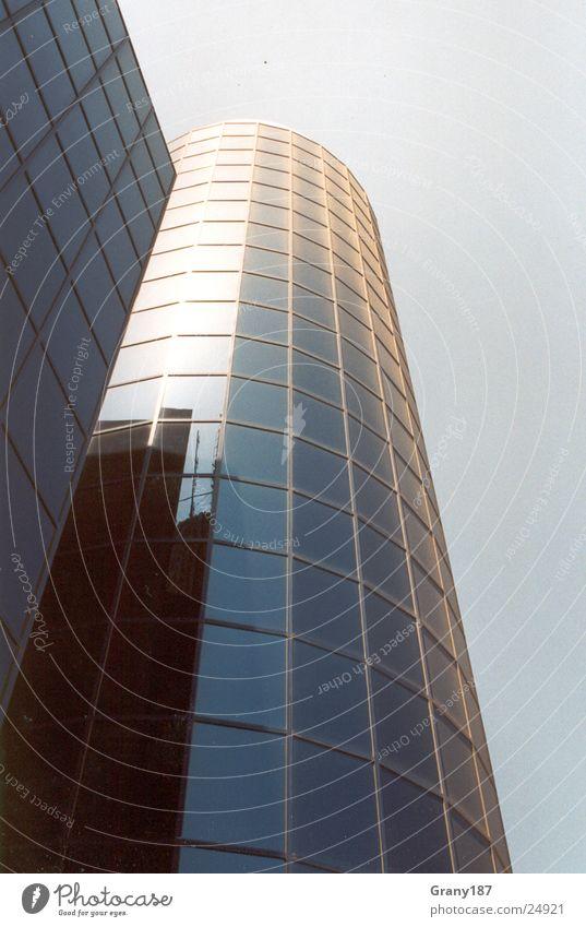 Alles nur Fassade Himmel Ferien & Urlaub & Reisen Architektur Fassade Glas Hochhaus groß Plakat Islam Bürogebäude Werbefachmann