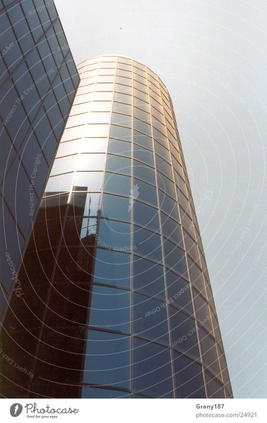 Alles nur Fassade Hochhaus Bürogebäude Werbefachmann Plakat Ferien & Urlaub & Reisen Islam Architektur haus hochhaus Glas Himmel Werbemittel Plakatwerbung