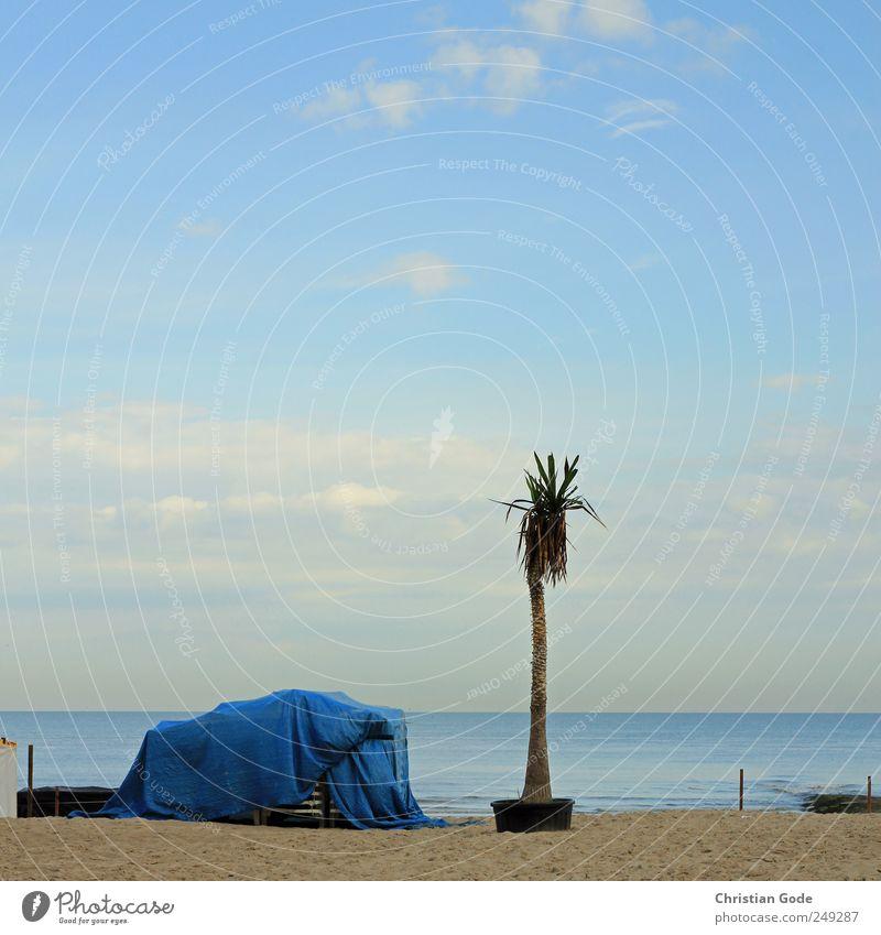 """Time is passing.. passing... passing... Himmel Natur blau Sommer Ferien & Urlaub & Reisen Strand Meer ruhig Ferne Erholung Freiheit Umwelt Landschaft Wellen"