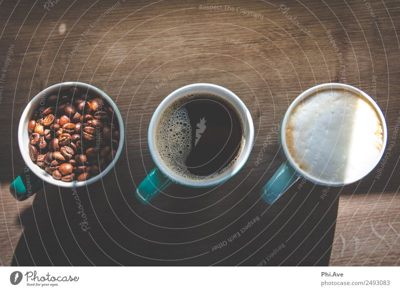 Kaffee Kunst Lebensmittel Ernährung Frühstück Kaffeetrinken Italienische Küche Getränk Heißgetränk Milch Latte Macchiato Espresso heiß Glück Kreativität