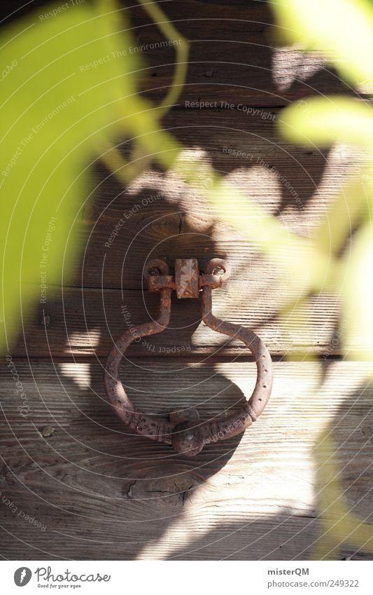 Secret III. Natur alt Einsamkeit dunkel Umwelt Landschaft Garten Holz Tür ästhetisch Hoffnung geheimnisvoll Italien gruselig Tor Vergangenheit