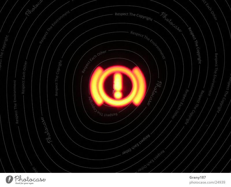Achtung! Achtung! rot Ferien & Urlaub & Reisen schwarz groß Verkehr Werbung Plakat Anzeige Vorsicht Signal Bremse Werbefachmann Handbremse