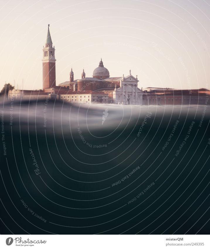 Sestieri. Wasser Ferien & Urlaub & Reisen Meer Architektur Kunst Abenteuer Tourismus ästhetisch Perspektive Turm Italien entdecken Sehenswürdigkeit Sommerurlaub