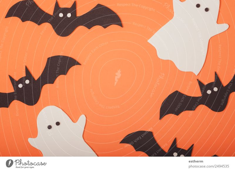 austricksen oder behandeln Freude Party Veranstaltung Feste & Feiern Halloween Herbst Spinne Bewegung Ferien & Urlaub & Reisen bedrohlich dunkel lustig schwarz