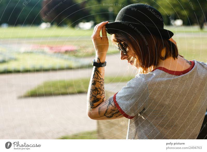 [LS128] - The sun is shining... Frau Erwachsene Jugendliche Leben 13-18 Jahre 18-30 Jahre 30-45 Jahre Park Identität einzigartig Inspiration schön