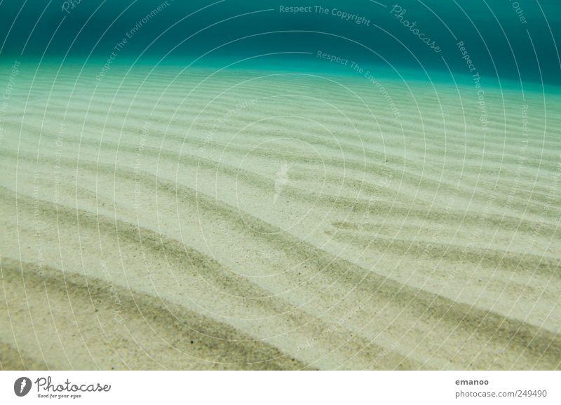 Smaragd Treibsand Natur Wasser grün Sommer Ferien & Urlaub & Reisen Meer Ferne Sand Wärme Küste Linie Wellen Schwimmen & Baden Insel Boden tauchen