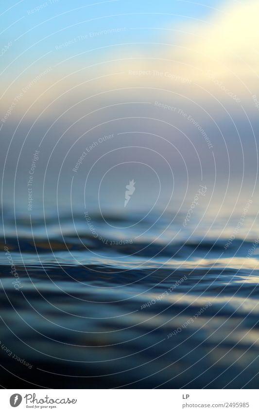 Ferien & Urlaub & Reisen Erholung ruhig Lifestyle Leben Religion & Glaube Hintergrundbild Gefühle Bewegung Schwimmen & Baden Zufriedenheit Horizont träumen