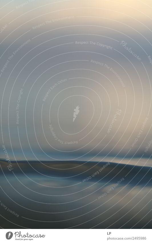weiche Welle Lifestyle Wellness Leben harmonisch Wohlgefühl Zufriedenheit Sinnesorgane Erholung ruhig Meditation Schwimmen & Baden Ferien & Urlaub & Reisen