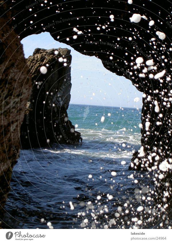 Piper Beach, California Meer Sommer Strand Kalifornien Pazifik