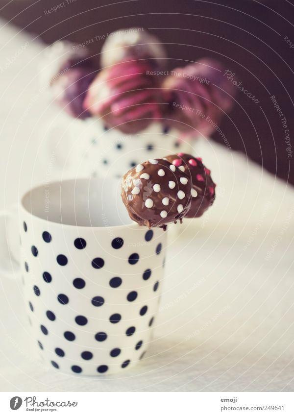 CAKE POPS Ernährung süß Dekoration & Verzierung Kuchen lecker Tasse Süßwaren Schokolade Dessert gepunktet Lollipop Kindergeburtstag Backwaren Fingerfood