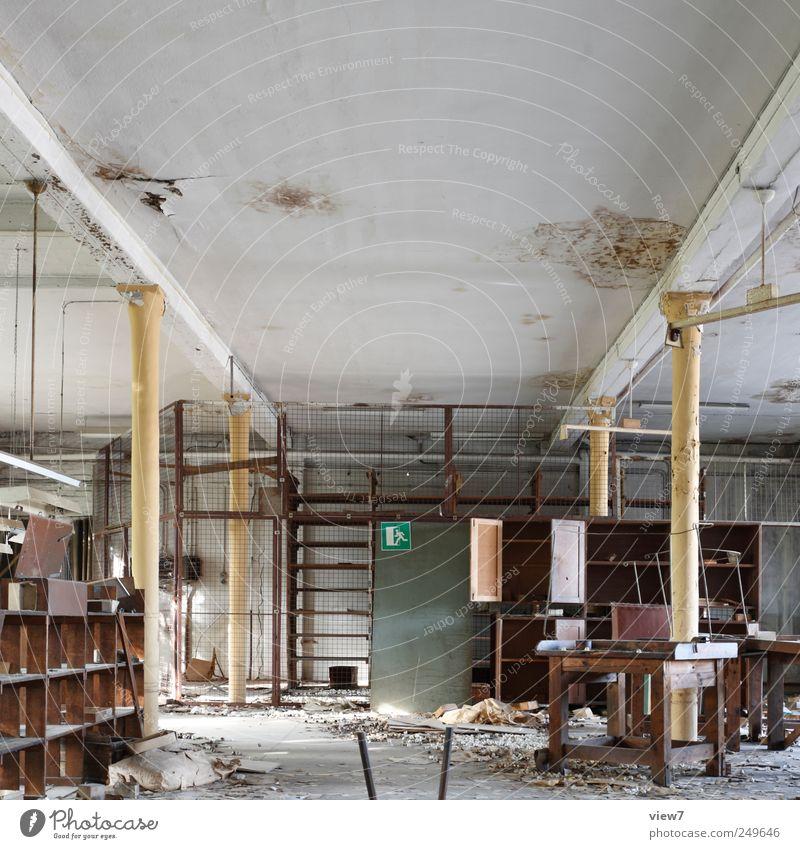 Großraumbüro Renovieren Innenarchitektur Dekoration & Verzierung Möbel Lampe Büroarbeit Arbeitsplatz Haus Mauer Wand entdecken machen Aggression alt Beginn
