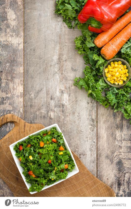 Gesunde Ernährung grün rot Foodfotografie Gesundheit Lebensmittel gelb Gesundheitswesen Textfreiraum orange Orange Gemüse gut Bioprodukte Schalen & Schüsseln