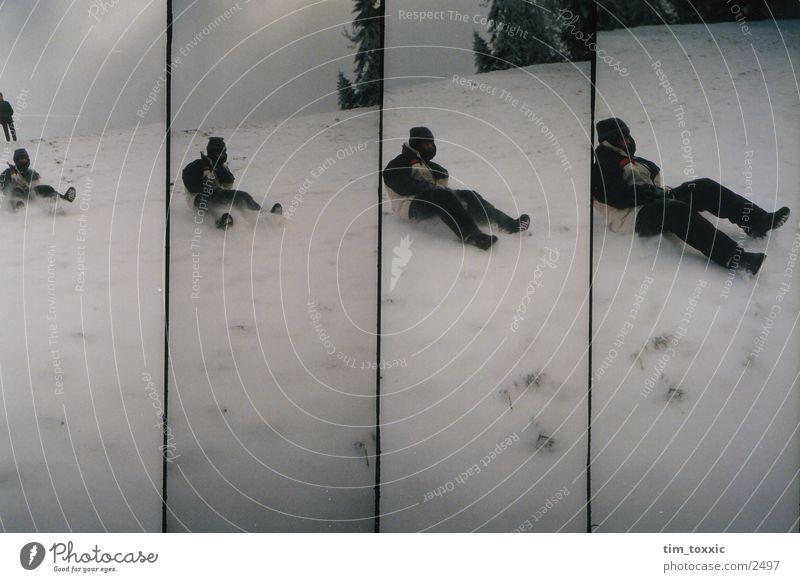 lomo_winter Winter weiß Lomografie Schnee