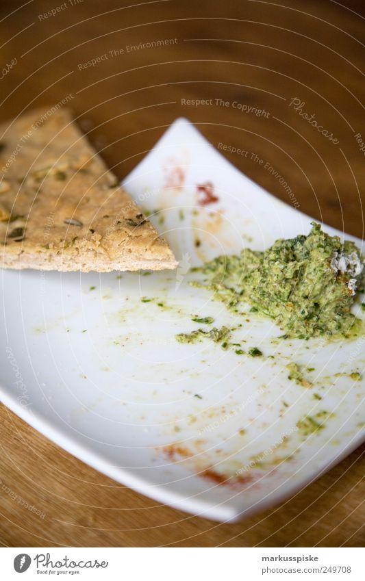 foccacia brot mit rucccola dip Lebensmittel Gemüse Getreide Teigwaren Backwaren Brot Kräuter & Gewürze Öl Abendessen Büffet Brunch Bioprodukte