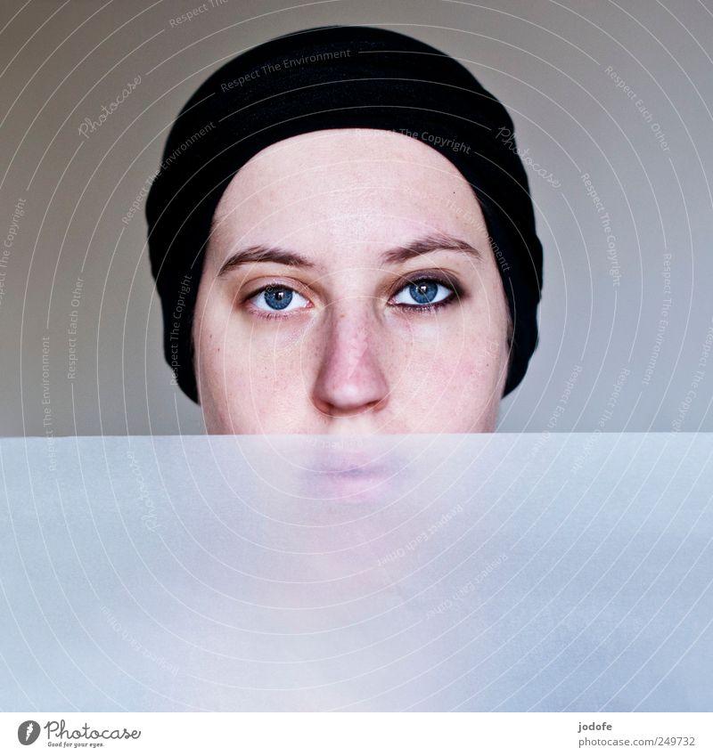 zwei Gesichter Mensch feminin Junge Frau Jugendliche 1 18-30 Jahre Erwachsene ruhig Selbstbeherrschung authentisch Reinlichkeit Sauberkeit Reinheit ästhetisch