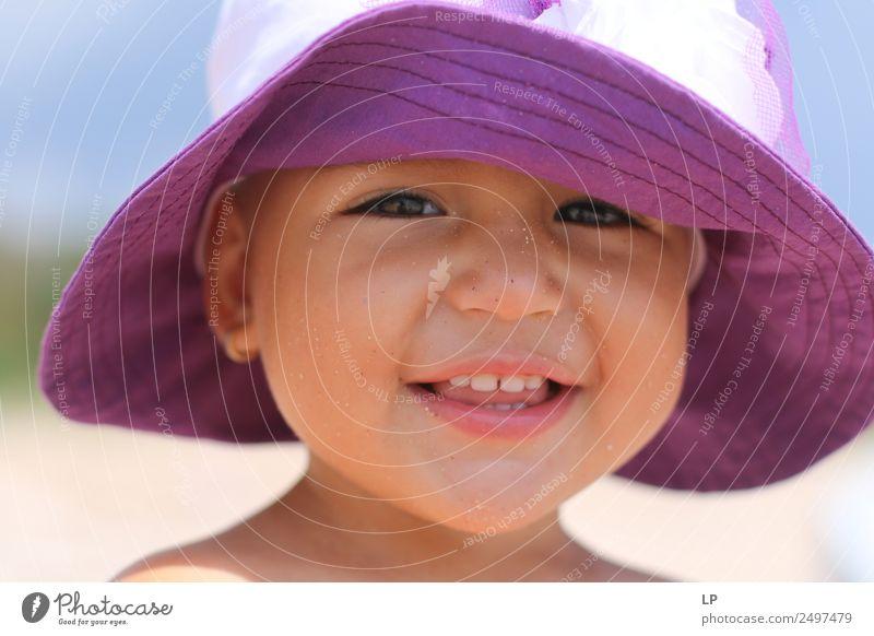 schönes Lächeln E Lifestyle Stil Freude Wellness Leben harmonisch Wohlgefühl Zufriedenheit Sinnesorgane Erholung ruhig Muttertag Mensch Kind Baby Mädchen Eltern