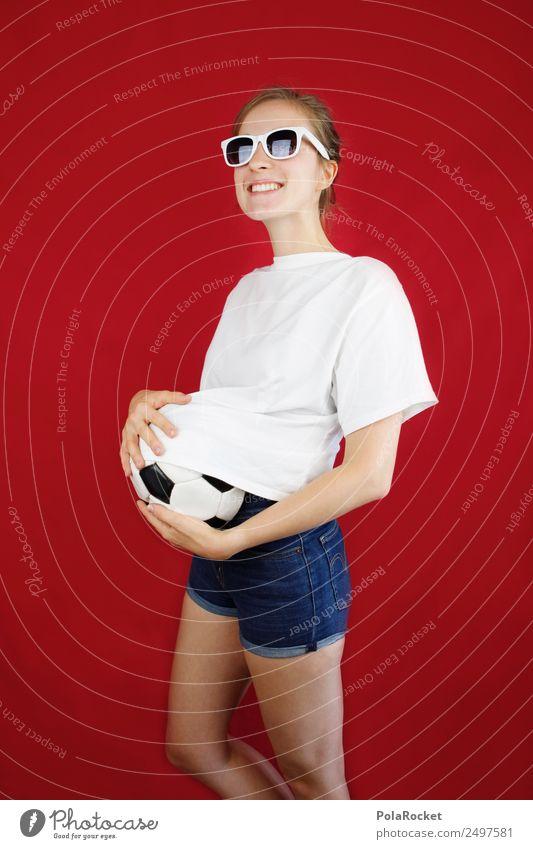 #A# WM-Vorbereitung Kunst ästhetisch Weltmeisterschaft Fußball Tischfußball Fußballplatz Fußballer Fußballvereine Fußballtraining Baby Babybauch Freude spaßig