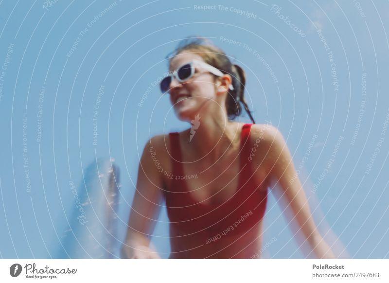 #A# red summer Lifestyle elegant Körper Freizeit & Hobby Spielen Kunst ästhetisch Sommer Sommerurlaub sommerlich Sommerferien Sommertag Badeanzug Badeurlaub