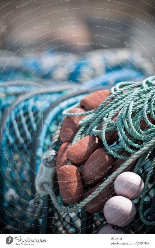 Reusen Seil authentisch Netz Fischereiwirtschaft Schwimmer (Angeln) Fischerdorf Fischereihafen