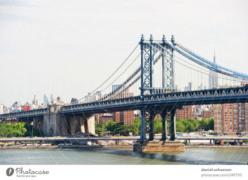 ich war jetzt auch mal in NY !!! Ferien & Urlaub & Reisen Tourismus Ferne Städtereise Stadt Skyline Hochhaus Brücke Sehenswürdigkeit Wahrzeichen New York City