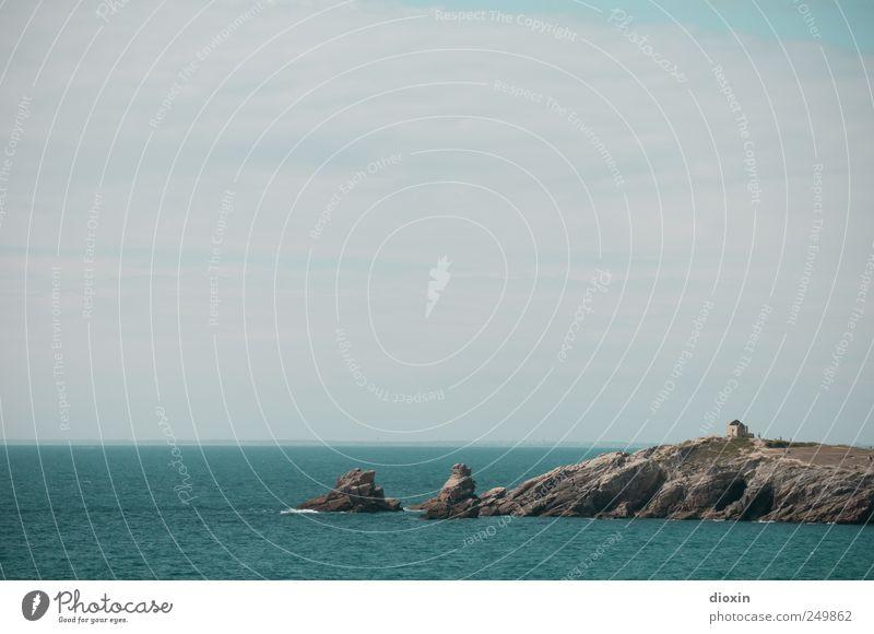 Côte Sauvage Himmel Natur Wasser Sommer Meer Ferien & Urlaub & Reisen Wolken Ferne Freiheit Umwelt Küste Wellen Ausflug Felsen Abenteuer Insel
