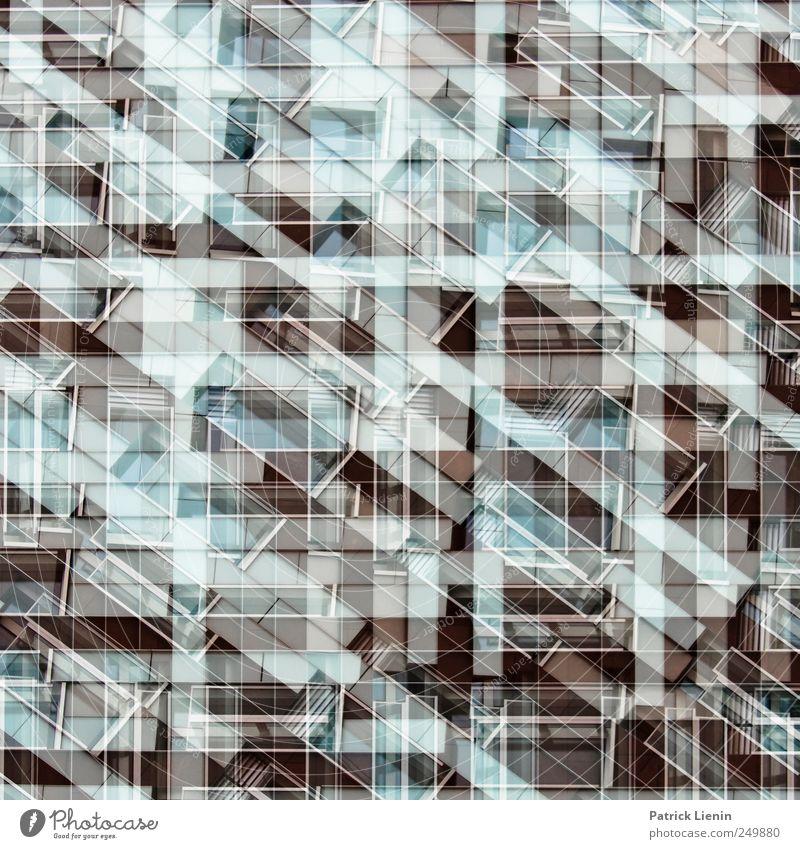 Empire State of Mind Haus Wand Mauer Architektur Gebäude Kunst Kraft Fassade Design modern Perspektive ästhetisch Wandel & Veränderung Kreativität einzigartig