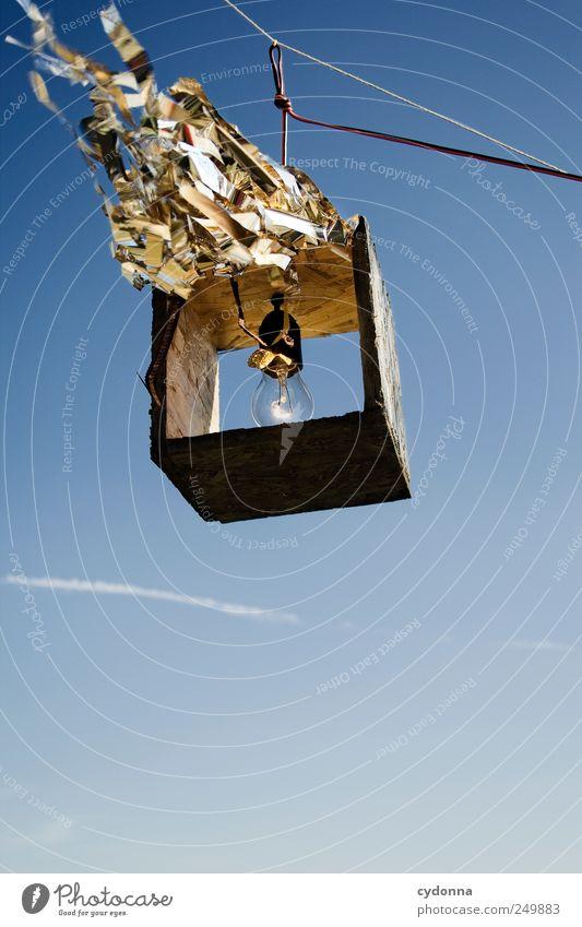 Licht fetzt! Natur Leben Freiheit Umwelt Stil Lampe Wind Design Energiewirtschaft Elektrizität einzigartig Technik & Technologie Bildung Kreativität Beratung Wissenschaften