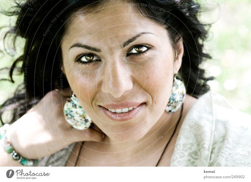 Nachher Mensch Jugendliche schön Gesicht Auge Leben feminin Kopf Stil Haare & Frisuren Erwachsene Mund elegant glänzend Nase Lifestyle