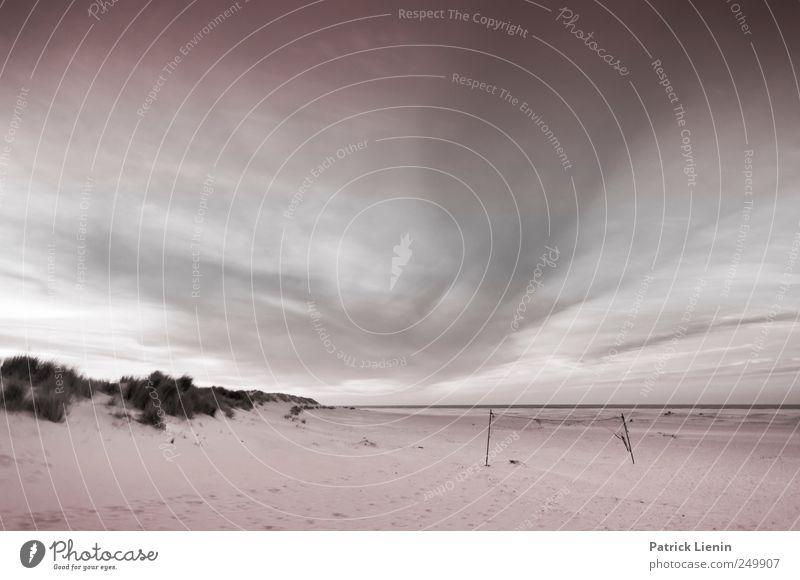 Spiekeroog | Tribute Himmel Natur Ferien & Urlaub & Reisen Sommer Meer Strand Wolken Ferne Umwelt Landschaft Freiheit Sand Küste Luft Stimmung Wetter