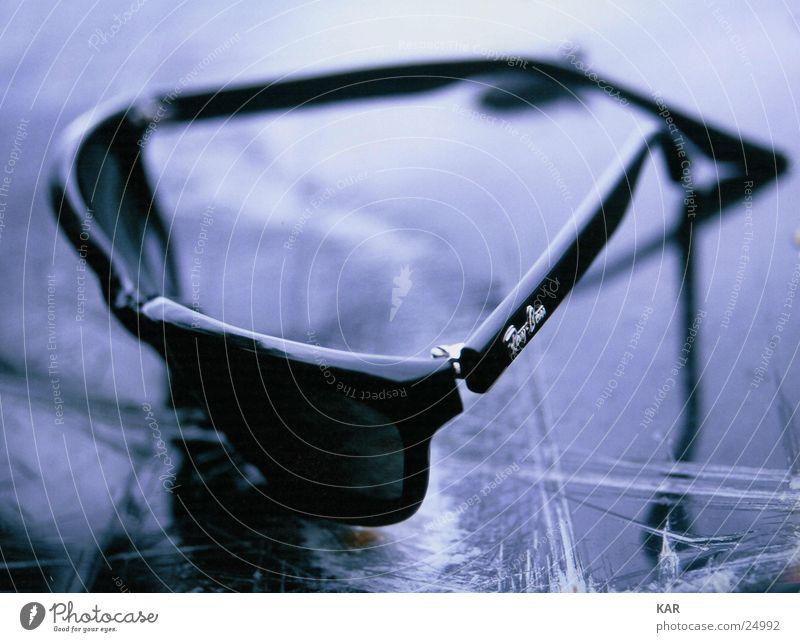 Sonnenbrille Unschärfe schwarz Freizeit & Hobby Ray-Ban