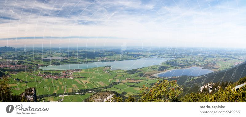 schöne aussicht Himmel Sommer Ferien & Urlaub & Reisen Ferne Wiese Freiheit Berge u. Gebirge Landschaft See Feld Ausflug Felsen wandern Tourismus Alpen Gipfel