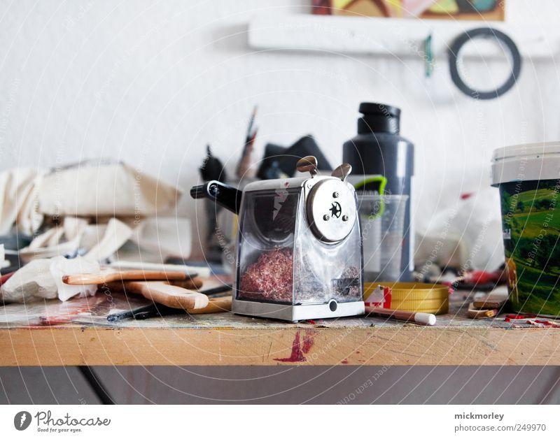 Old School Creativity Freude Freiheit Umwelt Gefühle Holz Bewegung Büro träumen Denken Zufriedenheit Freizeit & Hobby elegant ästhetisch retro