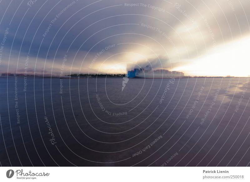 Wohin geht die Reise Natur Umwelt Stimmung Wetter Klima Schifffahrt