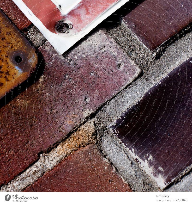 solid state Haus dunkel Wand Gebäude Mauer Fassade Design dreckig retro einzigartig Industrie Baustelle Bauwerk Hafen Fabrik Hütte