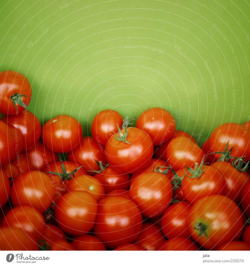 tomaten Lebensmittel Gemüse Tomate Ernährung Bioprodukte Vegetarische Ernährung Gesundheit lecker natürlich grün rot Farbfoto Außenaufnahme Menschenleer
