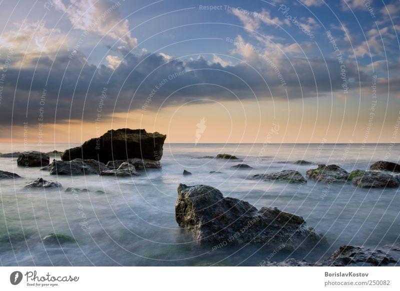 Himmel Natur Wasser Sommer Meer Wolken Landschaft Luft Horizont Felsen Abenteuer Wildpflanze Bulgarien