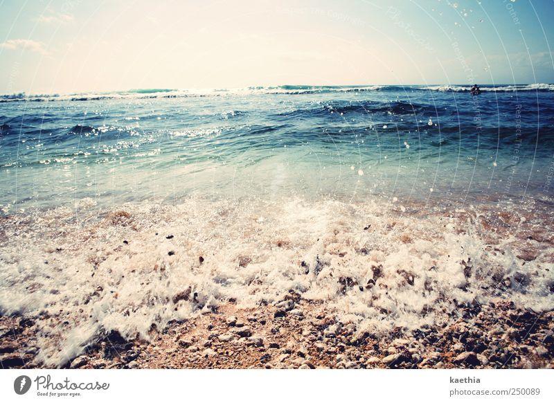 sprudelsand Lifestyle exotisch Freude Schwimmen & Baden Ferien & Urlaub & Reisen Tourismus Sommer Sommerurlaub Sonnenbad Strand Meer Insel Wellen Sand