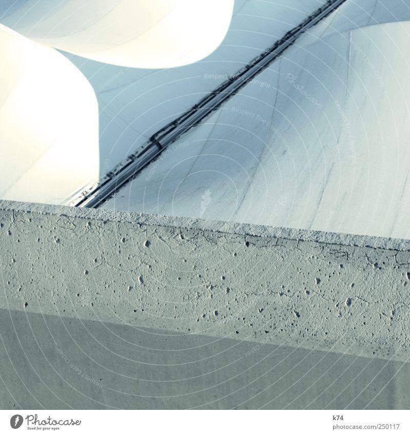 3V weiß blau grau Architektur hell Beton Kunststoff