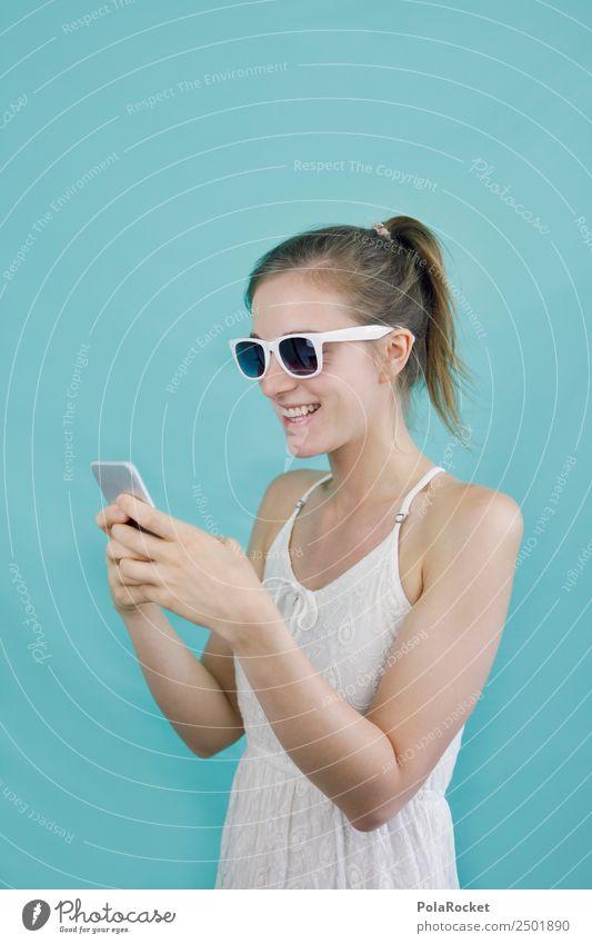 #A# mobile Welt 1 Mensch ästhetisch Mobilität Mobilfunk Chatten Tippen Handy Handy-Kamera Junge Frau digital Digitalfotografie modern weltweit online Empfang
