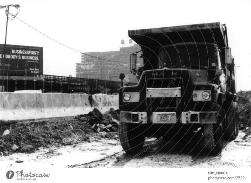 new_york.00 Stadt USA Baustelle Lastwagen New York City Manhattan New York State