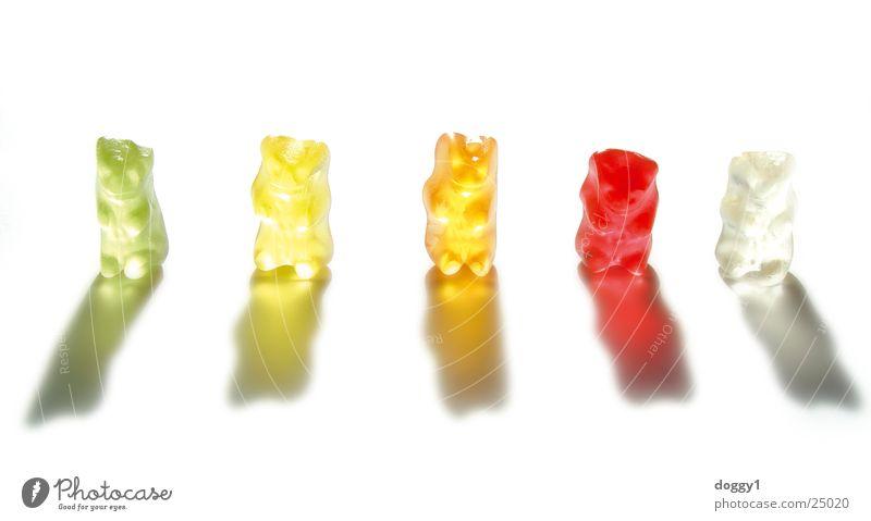 In der Schusslinie Farbe süß weich Bär Gummi
