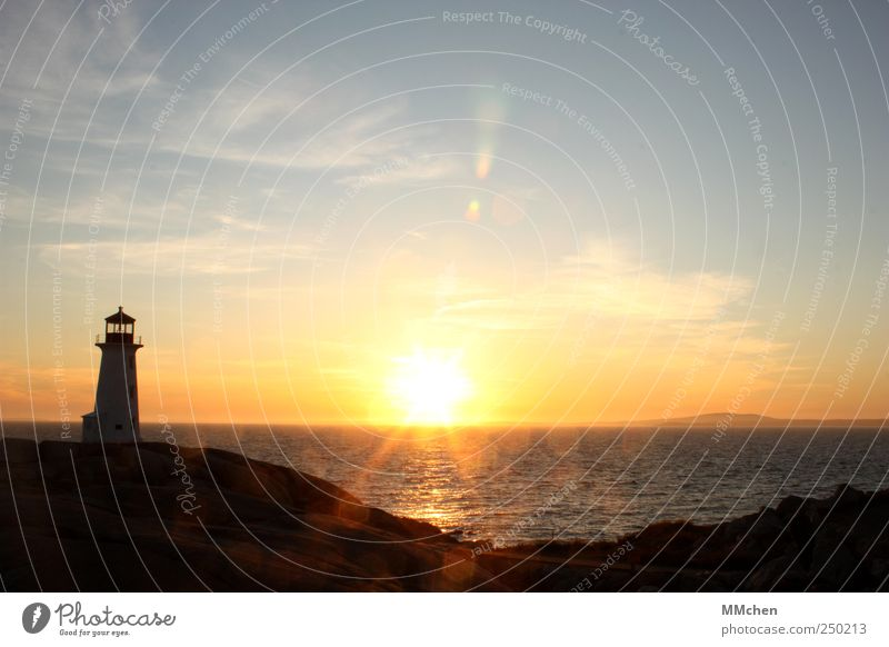 Dreams are not enough Meer Ferne Erholung Freiheit Glück Küste Wetter Wasserfahrzeug Zufriedenheit gold Ausflug glänzend Insel Sicherheit gefährlich Schutz