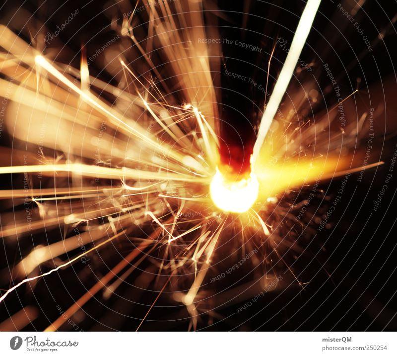 heisss. Wärme Feste & Feiern gefährlich Aktion ästhetisch leuchten Urelemente Lifestyle Silvester u. Neujahr heiß brennen Flamme glühen Funken Glut Nervenkitzel