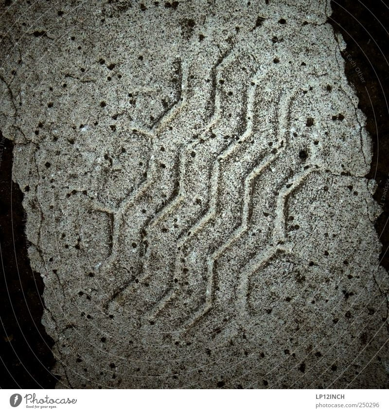 CSI Lüneburg schwarz Straße dunkel grau Streifen Spuren entdecken Reifenspuren Abdruck Fahndung